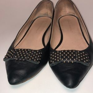 Loeffler Randall pointy bow flats 9.5 B shoes